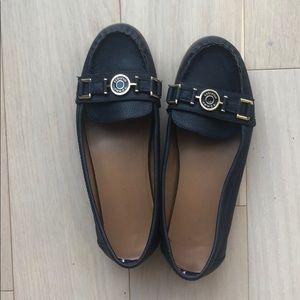 Navy Blue Tommy Hilfiger Moccasins / Loafers